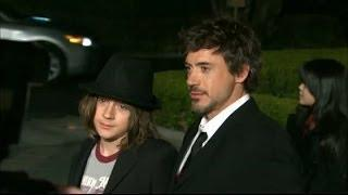 Robert Downey Jr.'s Son Arrested For Cocaine Possession - VIDEO