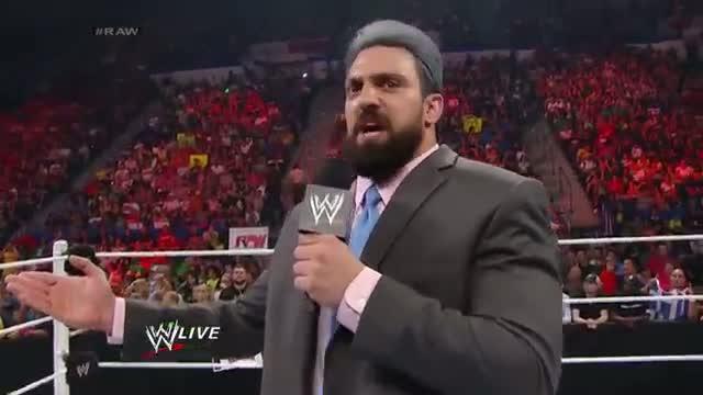 The Great Khali vs. Damien Sandow: WWE Raw, June 30, 2014