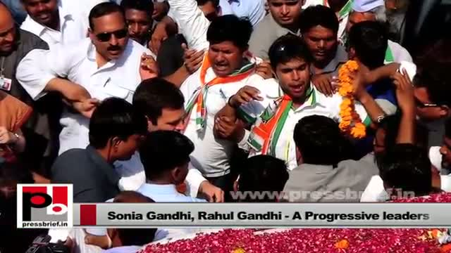 Sonia Gandhi, Rahul Gandhi - intelligent and charismatic leaders