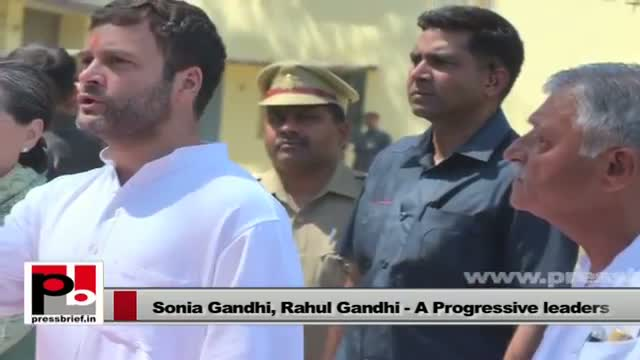 Sonia Gandhi, Rahul Gandhi - simple persons, efficient leaders