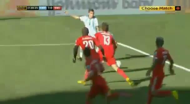 Di Maria A. Lionel Messi Goal - Argentina vs Switzerland 2014 (WC2014)
