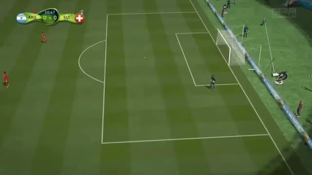 Argentina vs. Switzerland 1-0 - FIFA World Cup 2014 Full Match Goals & Highlights 01/07/14