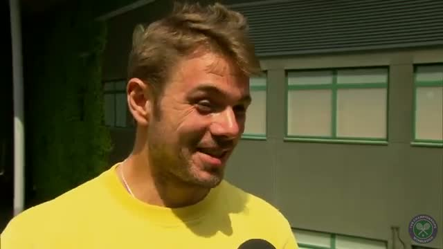 Stan Wawrinka's perfect day at Wimbledon 2014