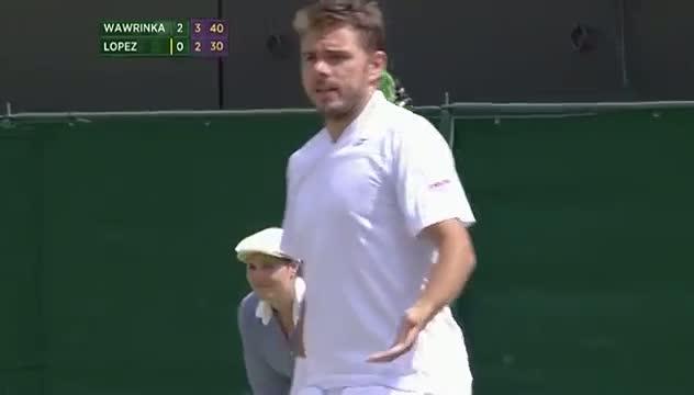 Will everyone just stop talking! Wimbledon 2014