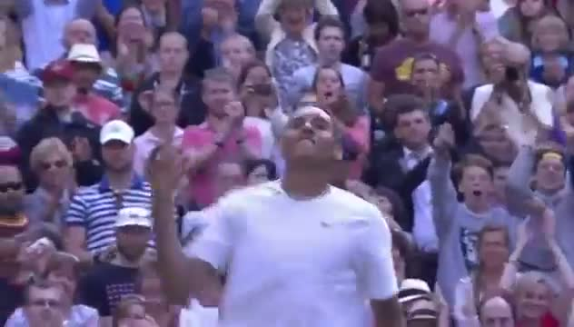 Match point: Nick Kyrgios beats Rafa Nadal - Wimbledon 2014