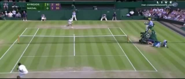 Nick Kyrgios vs Rafael Nadal - Highlights - Wimbledon 2014