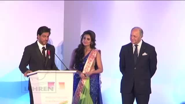 Shah Rukh Khan Received Top French Civilian award 'Knight of the Legion of Honor'