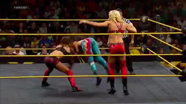 Bayley & Becky Lynch vs. Charlotte & Sasha Banks: WWE NXT, July 3, 2014