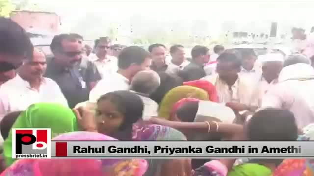 Rahul and Priyanka Gandhi Vadra - energetic leaders who easily connect with people