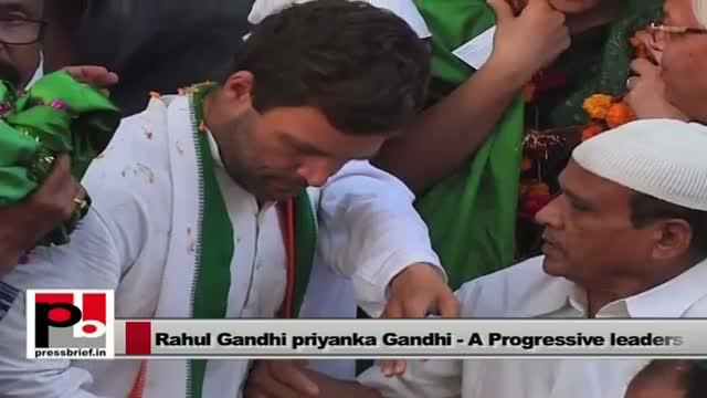 Rahul Gandhi and Priyanka Gandhi Vadra - favourite leaders of people in Amethi