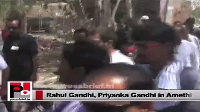 Rahul Gandhi and Priyanka Gandhi Vadra - intelligent leaders with innovative ideas