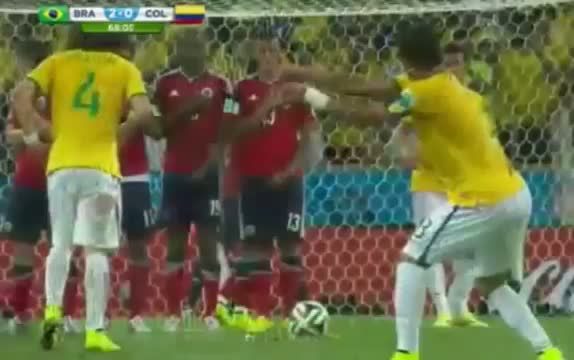 Brazil vs Colombia 2014 All Goals & Highligths - FIFA World Cup 2014 Brazil