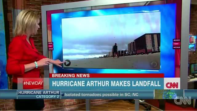 iReporters capture Hurricane Arthur