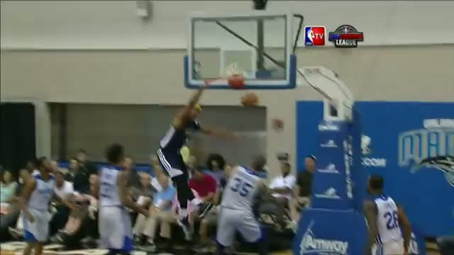 NBA: Jarnell Stokes Throws Down the Reverse Dunk