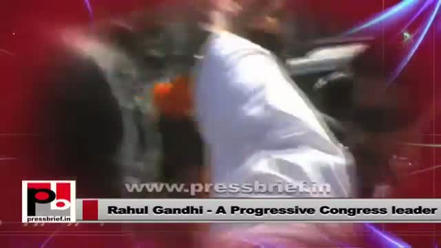 Rahul Gandhi - a real mass leader who is never after any posts