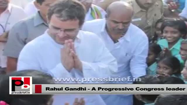 Rahul Gandhi - a leader whose main focus has been welfare and upliftment of the poor