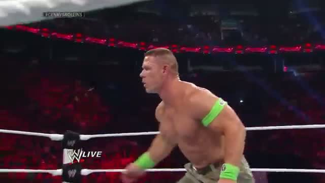 John Cena vs. Seth Rollins: Raw, July 7, 2014: WWE Raw, July 7, 2014