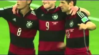 Andre Schurrle Goal - Brazil vs Germany 2014 WC - FIFA World Cup 2014