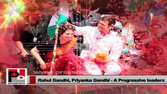 Rahul Gandhi and Priyanka Gandhi Vadra - perfect mass leaders with innovative vision