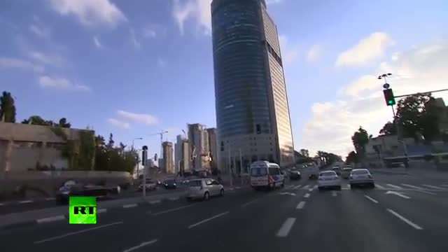 Air raid sirens, rush in Tel Aviv, Israel's Iron Dome intercepts Gaza rocket