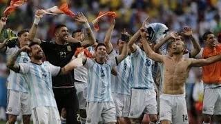 Netherlands Vs Argentina (2-4) Penalties Highlights - FIFA World Cup 2014 Brazil
