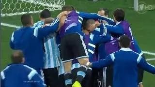 Netherlands vs Argentina (2-4) Penalty Shootout - FIFA World Cup 2014 2nf Semi Final