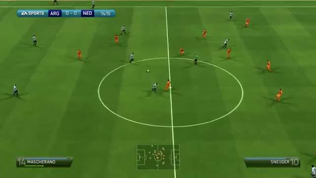 Netherlands vs Argentina 2 4 - Full Penalty Shootout - FIFA World Cup 2014 Brazil