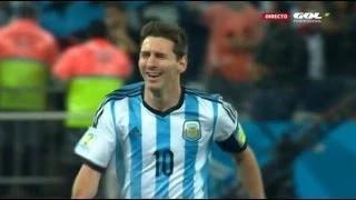 Netherlands vs Argentina 2-4 Penalties - 2014 FIFA World Cup Brazil