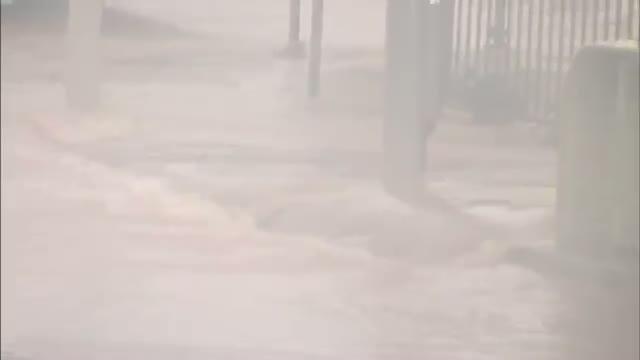 Typhoon Nears Japan's Main Islands