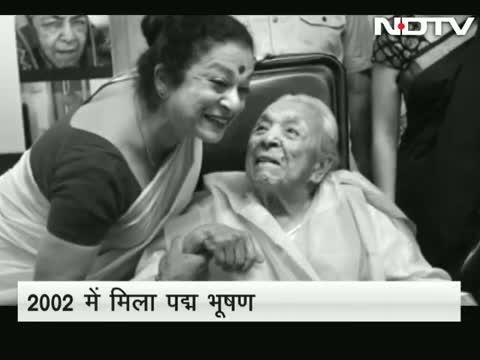 Veteran actor Zohra Sehgal dies. She was 102