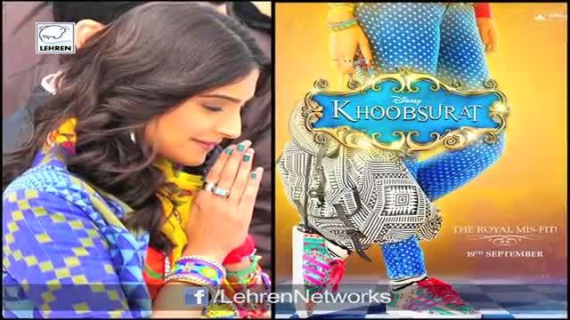 FIRST LOOK: Sonam Kapoor's Khoobsurat Posters REVEALED