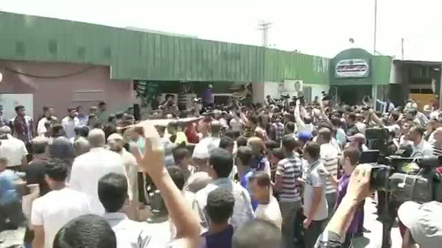 Funeral in Gaza for Family of 8