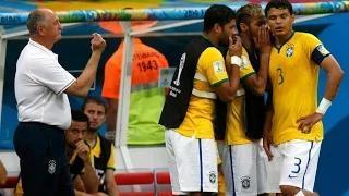 Neymar's reaction after Netherlands Win 12/07/2014 - Brazil vs Netherlands 0-3 2014 - FIFA World Cup HD