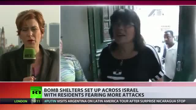 Outside Gaza: Bomb shelters set up across Israel, residents applaud Iron Dome