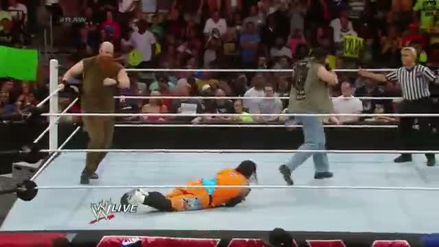 Luke Harper & Erick Rowan ambush The Usos: WWE Raw, July 14, 2014