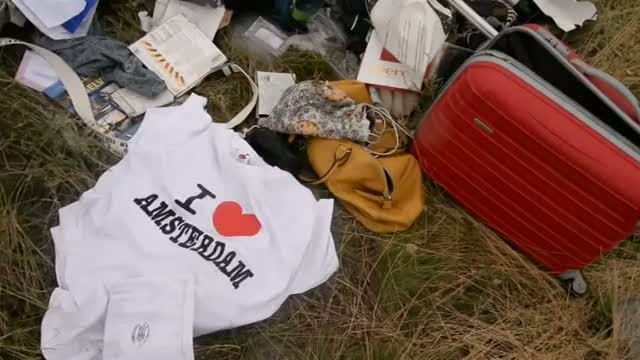 Debris From Malaysia Airlines Flight 17