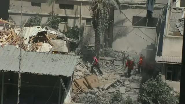 Israeli Troops Push Deeper Into Gaza