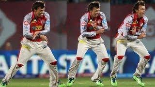 Adam Gilchrist Gangnam Style Dance & Wicket: KXIP vs MI, Match 69
