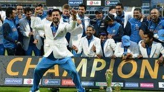 Virat Kohli Dance Gangnam Style - India vs England Champions Trophy 2013