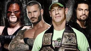 John Cena vs. Roman Reigns vs. Randy Orton vs. Kane - WWE Battleground - WWE 2K14 Simulation