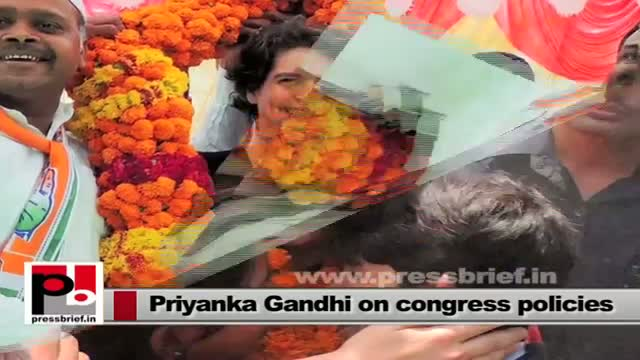 Priyanka Gandhi Vadra -- genuine Congress leader who works with commitment and dedication