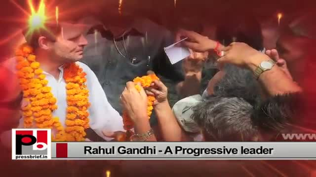 Rahul Gandhi - genuine mass leader; sets an example by doing what he has been saying