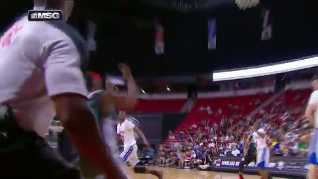 NBA: Rion Brown Goes Full Extension for the Alley-Oop!