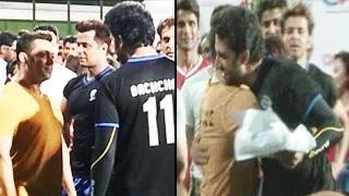 Aishwarya Rai Bachchan's ex boyfriend Salman Khan HUGS Abhishek Bachchan