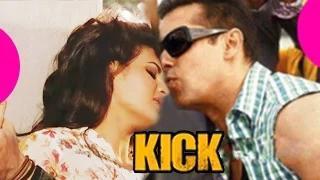 Salman Khan & Jacqueline Fernandez HOT KISS in KICK