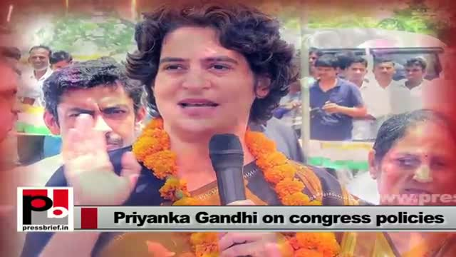 Priyanka Gandhi Vadra - efficient Congress campaigner with great concern for people's welfare