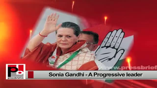 Sonia Gandhi always concerned about the poor and downtrodden
