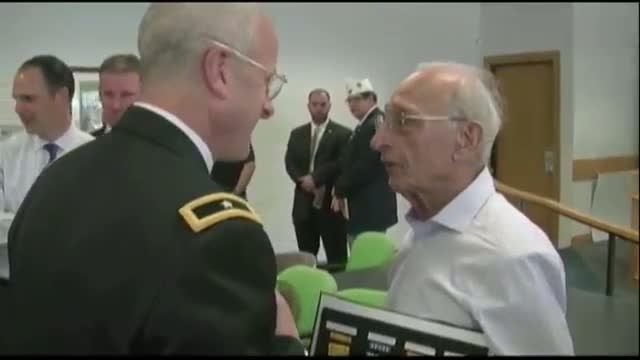 WWII Vet Gets Medals, 70 Years Late