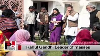Rahul Gandhi - great mass leader who always fought for upliftment of the poor
