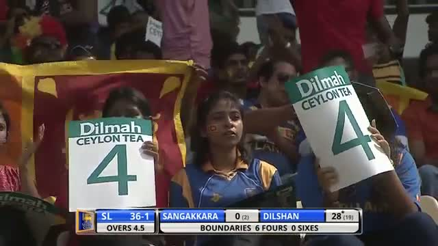Excellent batting from Tillakaratne Dilshan.. 86 runs (SL vs SA 2nd ODI 2014)